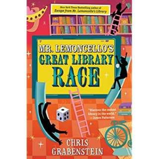 eBook - Mr Lemoncello's Great Library Race by Chris Grabenstein