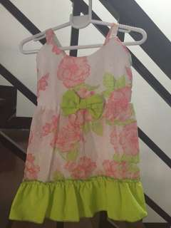 Summer dress for 1-2y/o