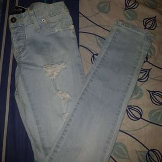 Distressed Jean's