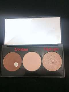 MIZZU contour&highlight shade rose isi 85%