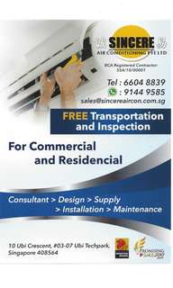 Sincere Air Conditioning Pte Ltd