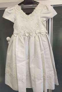Flower Girl Dress (White)
