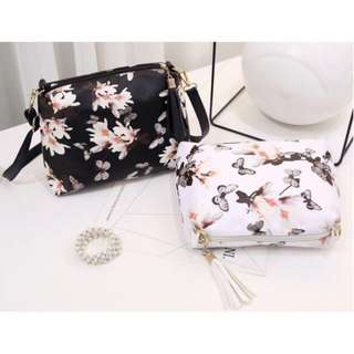 READYSTOCK 💓 Floral Sling Bag