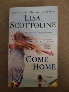 Come Home by Lisa Scottoline English Book Novel
