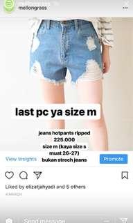 Mellongrass Short Jeans