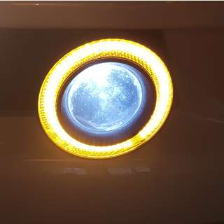 Dekitted angel eyes DL and spot lights