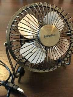 Powerpac USB Fan