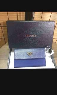 Prada (wallet with long strap)