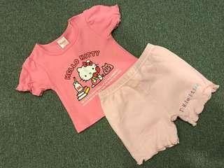 New Sanrio Hello Kitty Girl's Set