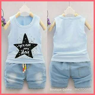"BOYSET ""YOU ARE MY STAR"" - BLUE"