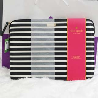 Brand New - Authentic Kate Spade Laptop Sleeve