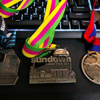 Assorted Marathon Medals