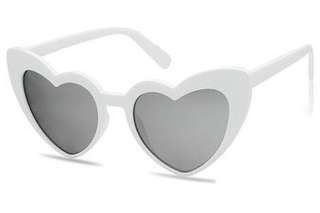 Oversized Heart Shaped Sunglasses
