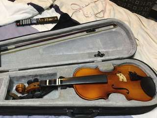 1/4 Mozart Violin (For Parts and Repair) Imported from Germany