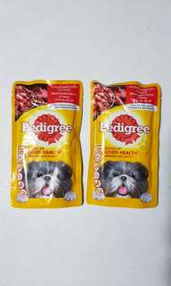 Pedigree Dog Food Pouch