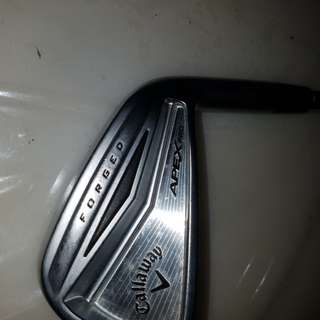 Callaway Apex 7 iron steal shaft