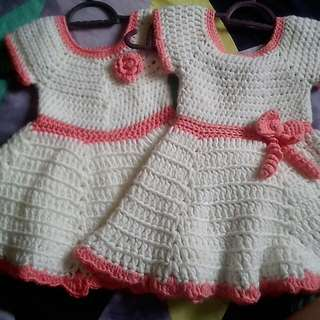 Dress handmade kait(crochet)