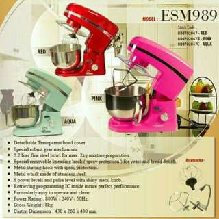 The Baker Stand Mixer ESM-989 5.2L