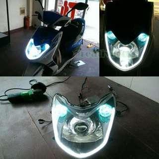 Car DRL Flexible LED lights 60cm WHITE color
