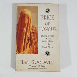 Price of Honour by Jan Goodwin