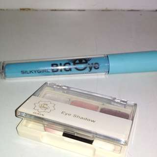 [Preloved] Mascara Silky Girl dan Eyeshadow Viva