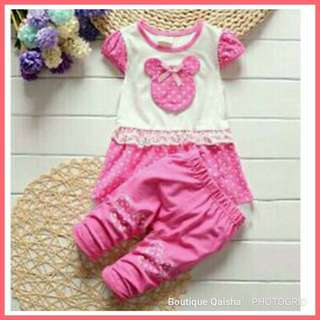 MINNIE SET - DEEP PINK