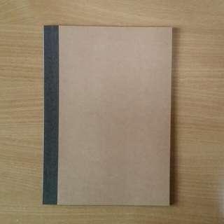 b5 muji notebook
