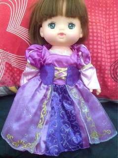 Mell Chan doll's Rapunzel dress