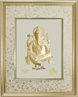 24K Gold Ganesha