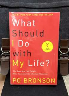# Highly Recommended《Bran-New + Inspirational Stories Of People Around The World that Emabarked On Self-Discovery Route & Own-Calling Searching》Po Bronson - WHAT SHOULD I DO WITH MY LIFE ? : The True Story of People Who Answered the Ultimate Question