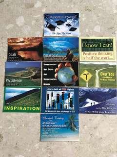 Motivational Mini cards