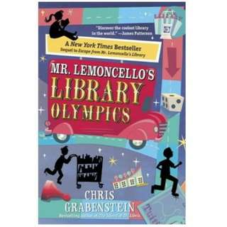 eBook - Mr Lemoncello's Library Olympics by Chria Grabenstein