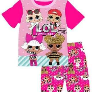 LOL surprise doll t-shirt set
