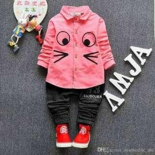 KidsAMJA/stelan anak murah/stelan anak perempuan/baju anak murah