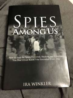 Spies Among Us - Signed by author