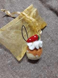 香草蛋糕 吊飾