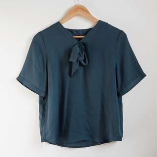 Zalora Top with Bow