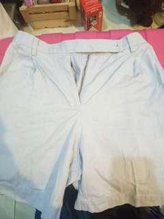 Liz Claiborne light blue shorts