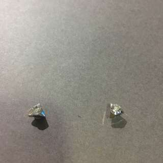Triangle Magnetic Earring