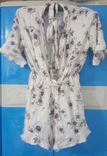 Jumpsuit with cotton fabric