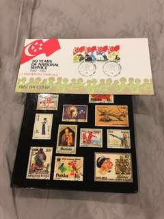 Singapore Stamp Collection