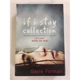 If I Stay Collection (If I Stay and Where She Went) by Gayle Forman