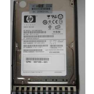 HP 146GB 10K SAS