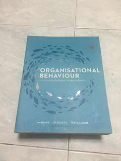 Organizational behaviour textbook