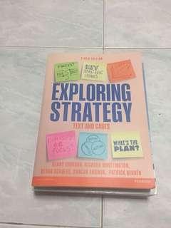 Exploring strategy textbook