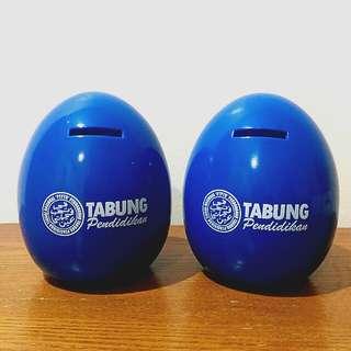 2x SSPN Egg Coin Bank