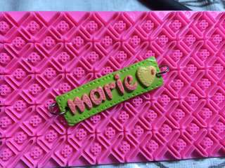 Polymer Personalized Name Tag