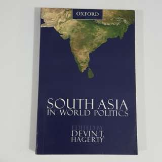 South Asia in World Politics edited by Devin T. Hagerty