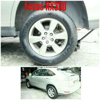 Tyre 225/65 R17 Membat on Lexus RX350 🐕 Super Offer 🙋♂️
