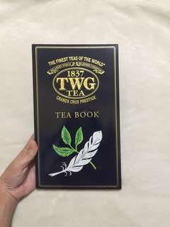 FREE SF TWG TEA BOOK